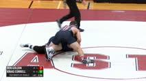 285 RR Rnd 1 - Ben Goldin, Lake Higland Prep vs Kraig Correll, Blair Academy