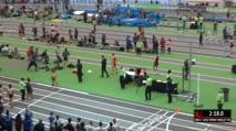 Girl's Sprint Medley Relay Freshmen, Round 1 Heat 3 (Part 3)
