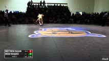113 Finals - Matthew Olguin, Buchanan vs Jesse Vasquez, St. John Bosco