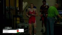 195 JOEL SHAPIRO, IA vs BRANDON WHITMAN, MI