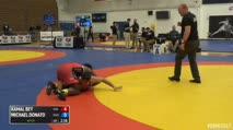 75kg 1/8 Final - Kamal Bey, Sunkist Kids vs Michael Donato, NYAC