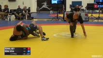 75kg 1/4 Final - Kamal Bey, Sunkist Kids vs Roni Sosa, Argentina