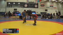 75kg 1/2 Final - Kamal Bey, Sunkist Kids vs Kodai Sakuraba, Japan