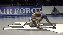 125 Trey Andrews, Northern Colorado - 0 vs Drew Romero, Air Force - 0