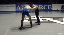 133 Rico Montoya, Northern Colorado - 5 vs Dylan Hyder, Air Force - 0