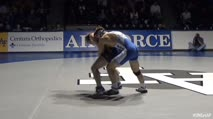 174 Tanner Davis, Northern Colorado - 12 vs Michael Billingsley, Air Force - 9
