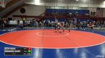 138 Round of 16 - Seth Israel, Belmont Hill vs Mohamed Kadry, Deerfield Academy