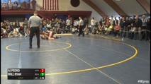 182 Finals - AJ Pedro, The Phillips Exeter vs Will Ryan, Belmont Hill