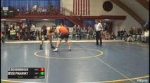 285 Finals - Owen Rosenberger, Brooks vs Jesse Polansky, Suffield Academy