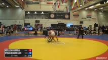 65kg 1/2 Final - Kellen Russell, NYAC vs Evan Henderson, Titan Mercury