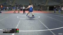 285 Consi of 8 #2 - Stephen Boone, Iowa Western vs Brix Brickey, Barton