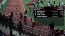 Women's 200m, Round 1 Heat 1