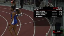 Women's 200m, Round 1 Heat 2