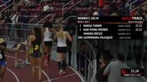 Women's 200m, Round 1 Heat 4