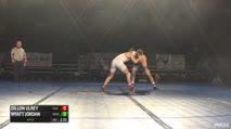 165 Finals - Dillon Ulrey, Clackamas vs Wyatt Jordan, Northeast Oklahoma