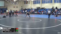 125 5th Place - Charles Lenox, NC State vs Alex Vargas, Maryland