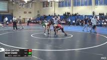 157 5th Place - Adam Santoro, Open vs Ricky Stamm, Hofstra