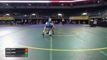 125 Consi of 16 #2 - Manuel Canfijn, West Chester vs Patrick Lehman, Alfred State