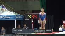 Gabby Perea - Vault 1, USA - 2017 International Gymnix - Junior Cup