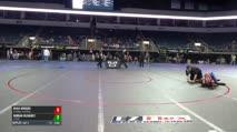 87 RR Rnd 4 - Ryan Rogers, Jr Badger Wrestling vs DORIAN OLIVAREZ, 3 Style