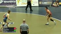 126 Finals - Justin Mejia, USA vs Austin DeSanto, Pennsylvania