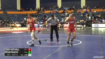 157 Round of 16 - Casey Mitchell, Sacred Heart vs Dylan Palacio, Cornell
