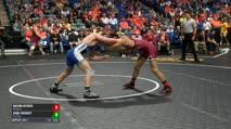 149 Quarter-Finals - Davion Jeffries, Oklahoma vs Jerry McGinty, Air Force