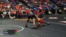 133 Semi-Finals - Earl Hall, Iowa State vs Kaid Brock, Oklahoma State