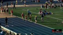 Women's 3k Steeplechase, Heat 3 - Tori Gerlach runs NCAA lead (9:50.6)