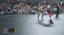 195 Semi-Finals - Alexis Aguirre, IKWF Silver (M) vs Logan Cole, Wyoming Brown (M)