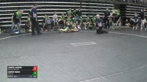 112 5th Place - Cooper Jackson, Nebraska Black (E) vs Hunter Hobbs, Idaho (E)
