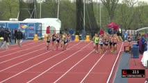 Girl's 3200m, Heat 1 - Callie Logue 10:09!
