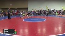 E-132 Mat 14 8:00 am Quarter-Finals - Logan Mudel, Unatt. vs Josh Mason, Unatt.
