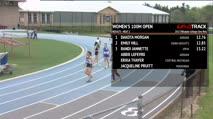 Women's 100m Open, Heat 2