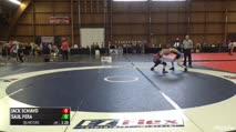 110 LBS Quarters - Jack Schiavo vs Saul Pera, Fisheye