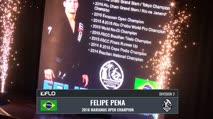 Isaque Bahiense vs Felipe Pena Marianas Open X | MMXVII