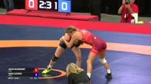 55 Round 1 - Sarah Hildebrandt, NYAC vs Becka Leathers, TMWC