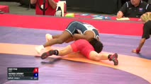 48 Round 2 - Cody Pfau, TMWC vs Victoria Anthony, Sunkist Kids Wrestling Club