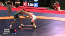 57 Finals - Anthony Ramos, Sunkist Kids Wrestling Club vs Nahshon Garrett, Sunkist Kids Wrestling Club