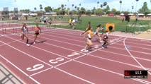 Women's 100m Hurdles, Heat 4