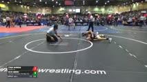 125 Round of 256 - Ethan Aguiniga, Pounders Wc vs Dilyn Jimenez, Southwest Washington Wrestling Club