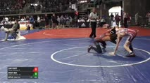 106 Round of 16 - Sam Scott, Patriot Wrestling, IN vs Wyatt May, Millard West/mwc, NE
