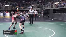 108 RR Rnd 1 - Mikayla Whatley, Mo vs Madyson Gray, Ks