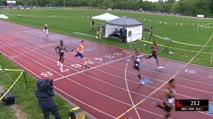 Men's 200m, Heat 2