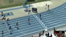Girl's 100m Hurdles 4A, Heat 2