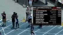 Boy's 110m Hurdles 2A, Final