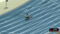 Girl's 100m Wheelchair 4A, Final