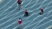 Boy's 100m Wheelchair 2A, Final