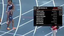 Girl's 200m 4A, Heat 2