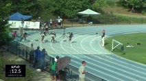 High School Girl's 100m, Heat 2